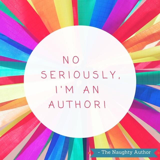 No seriously, I'm a author